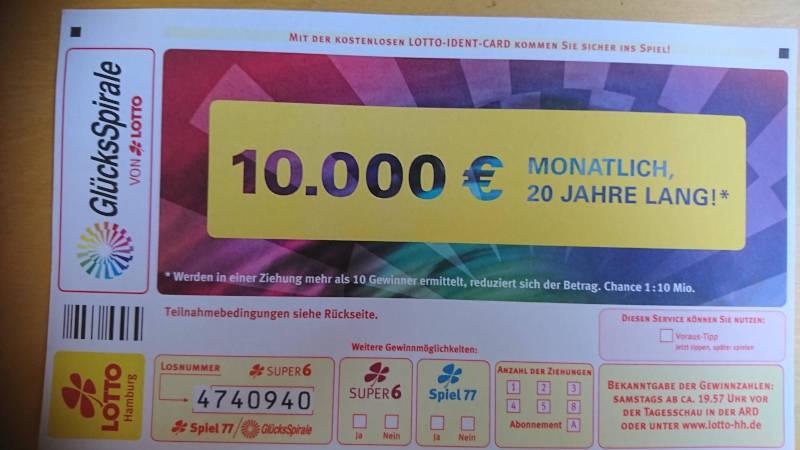 Lotto Kiosk in Ruhland