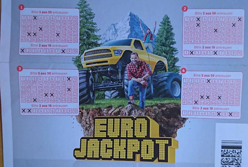 Lotto Kiosk Eurojackpot spielen