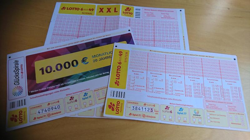 Lotto Annahmestelle Lotto 6 aus 49 und Glücksspirale spielen