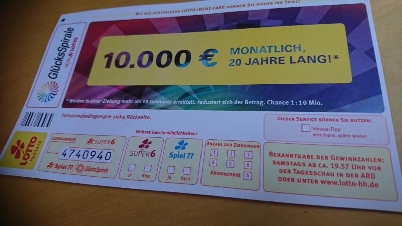 Lotto Geschäft in Schwarzbach