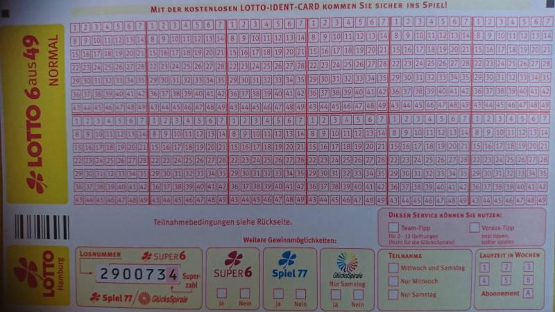 Lotto Kiosk in Schwarzbach